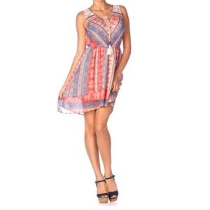Miss Me Paisley Print Dress